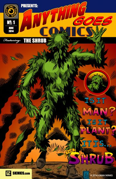 Anything Goes Comics #1