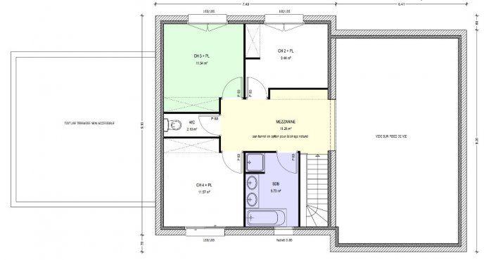 Plan achat maison neuve à construire - Logis du Marais Poitevin - plan maison france confort