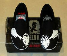50a7412f9e5a American Idiot Converse Converse Green Day American Idiot Chuck Taylor Shoes  Sneakers BLACK .