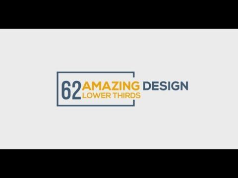 62 lower thirds after effects template after effects templates