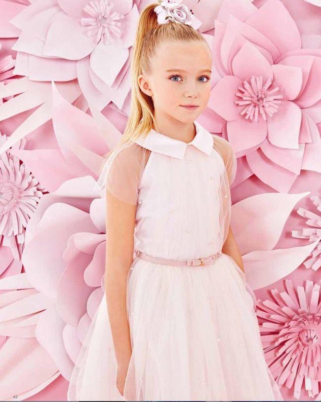 Monnalisa Online, vestidos de fiesta para niñas | Fiesta para niños ...