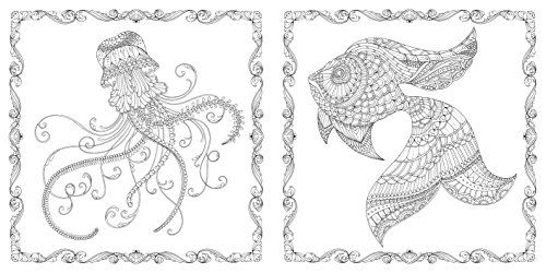 Buy Lost Ocean Johanna Basfords Adult Colouring Book For With Free UK Delivery