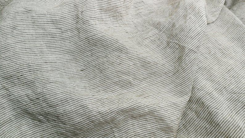 sheer linen by the yard grey linen Sheer linen fabric by the meter for curtains