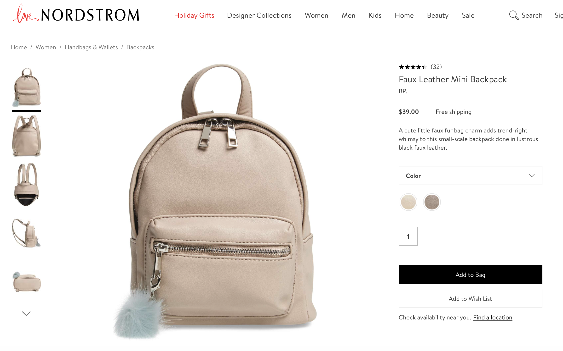 5a89a0df6136 Mini Backpack! Something like this i would love for italy! This one is from  nordstrom