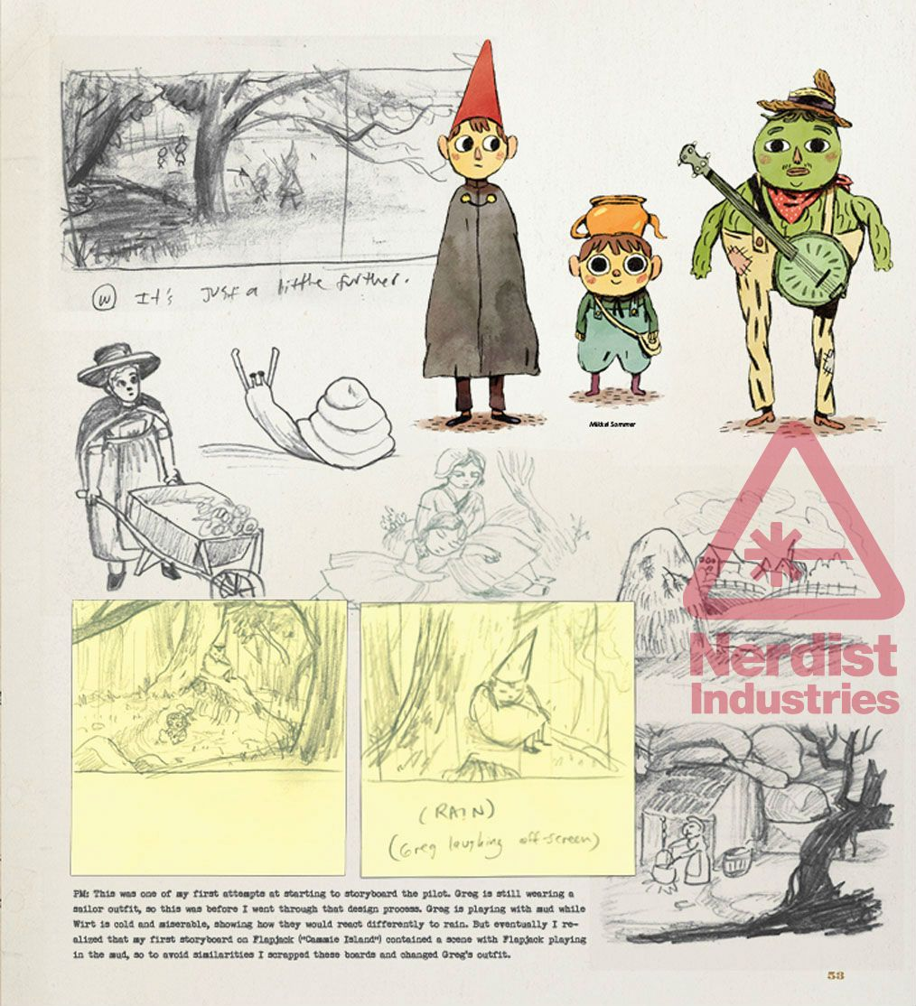 THE ART OF OVER THE GARDEN WALL Takes Us Inside the Classic ...