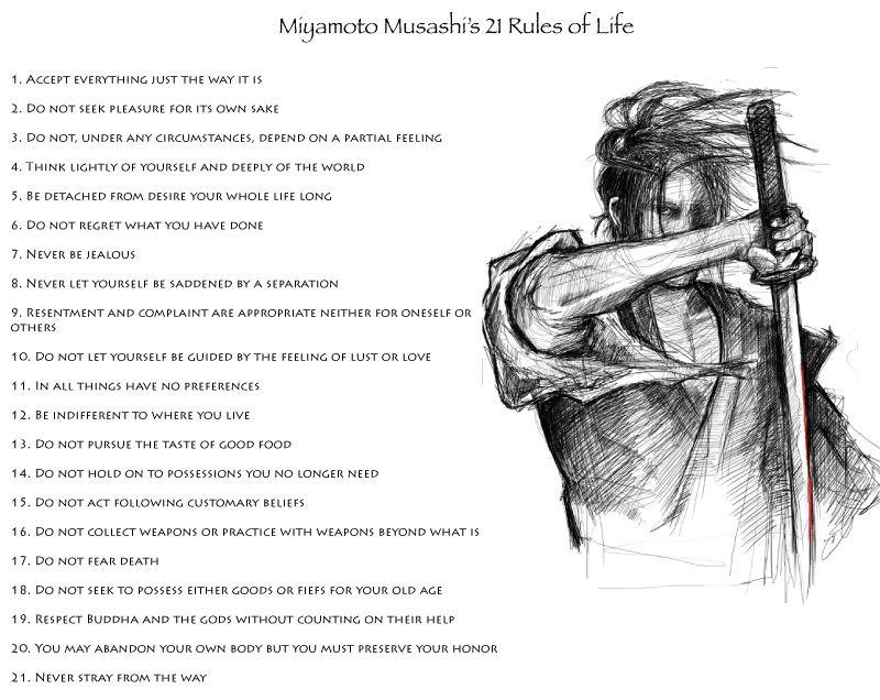 32++ Miyamoto musashi book of five rings quotes info