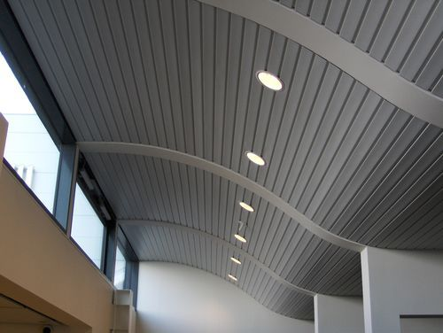 Metal Strip Suspended Ceiling By Dampa Modular Unit With