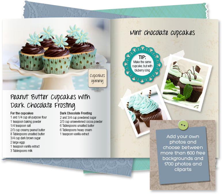 create your own recipe book or cookbook online for free cliptomize