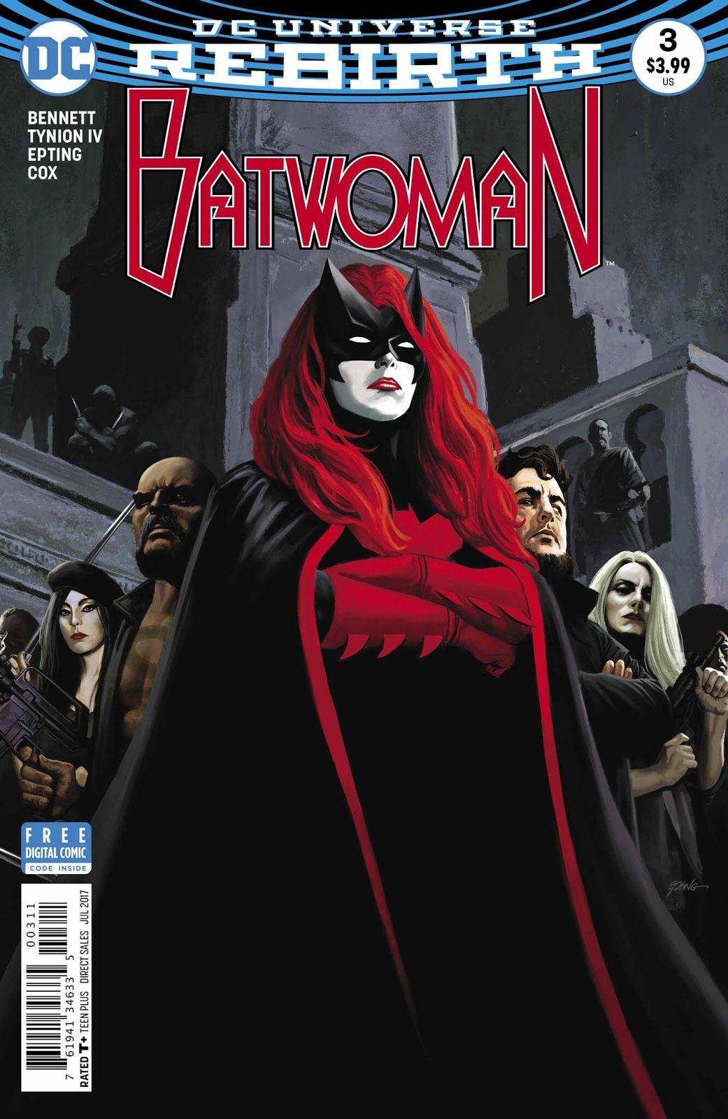 Batwoman 3 review and spoilers batwoman top