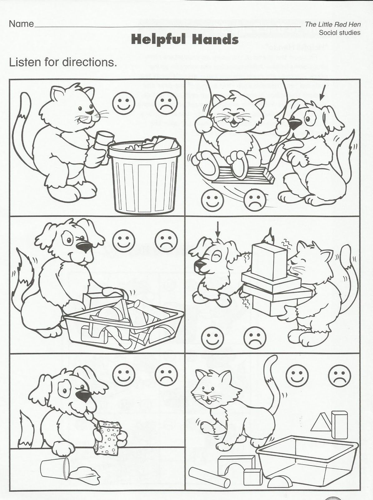 Worksheets Emotions Worksheets For Preschoolers squish preschool ideas cats pinterest school pet theme and ideas