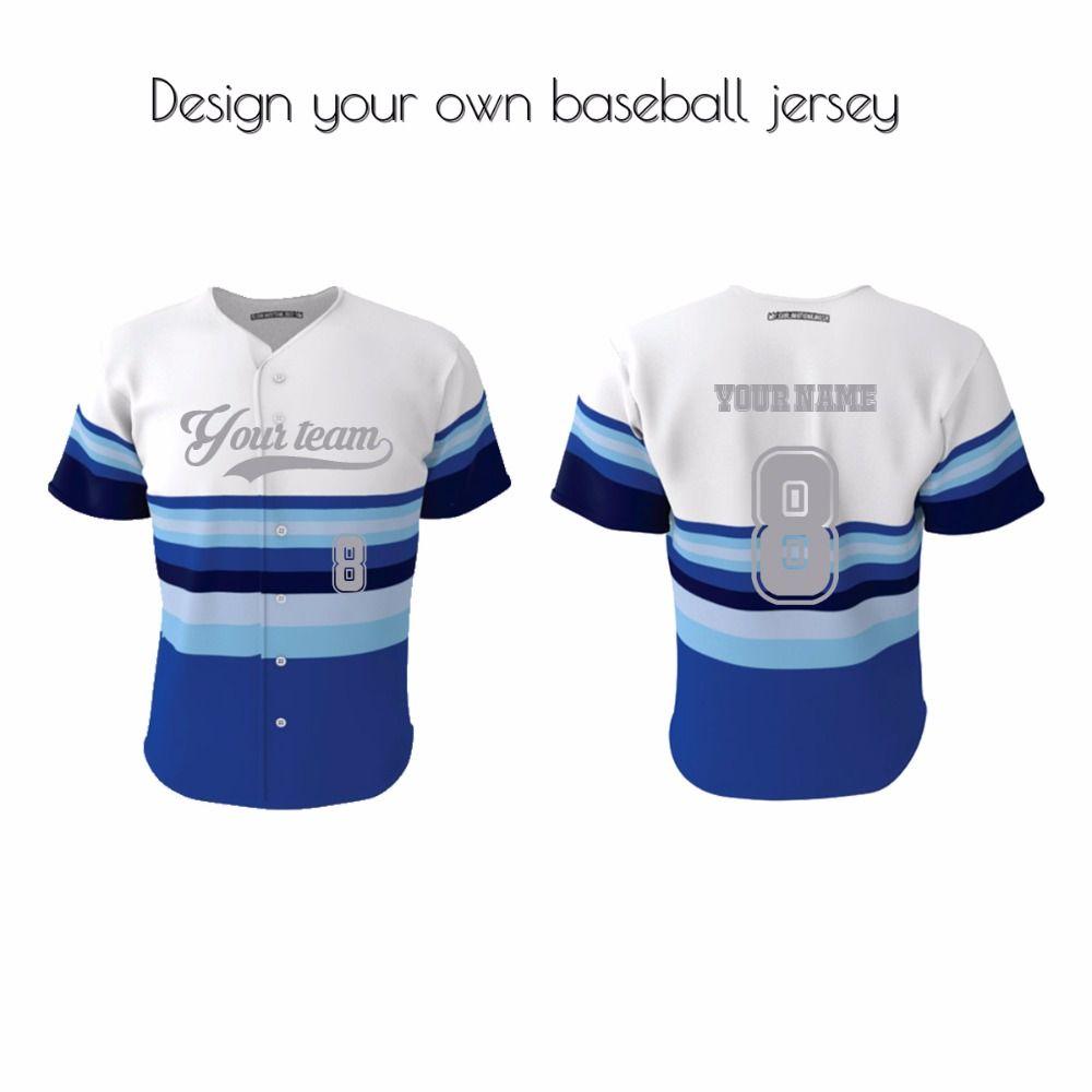 Hot Sales Baseball Jersey New Style Sublimation V Neck Baseball Uniforms Baseball Uniforms Baseball Jerseys Jersey