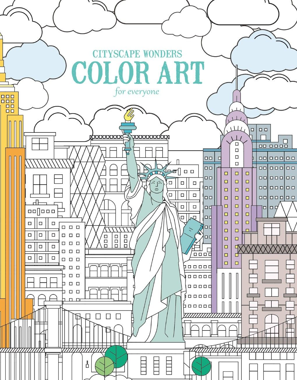 Cityscape Wonders Color Art For Everyone