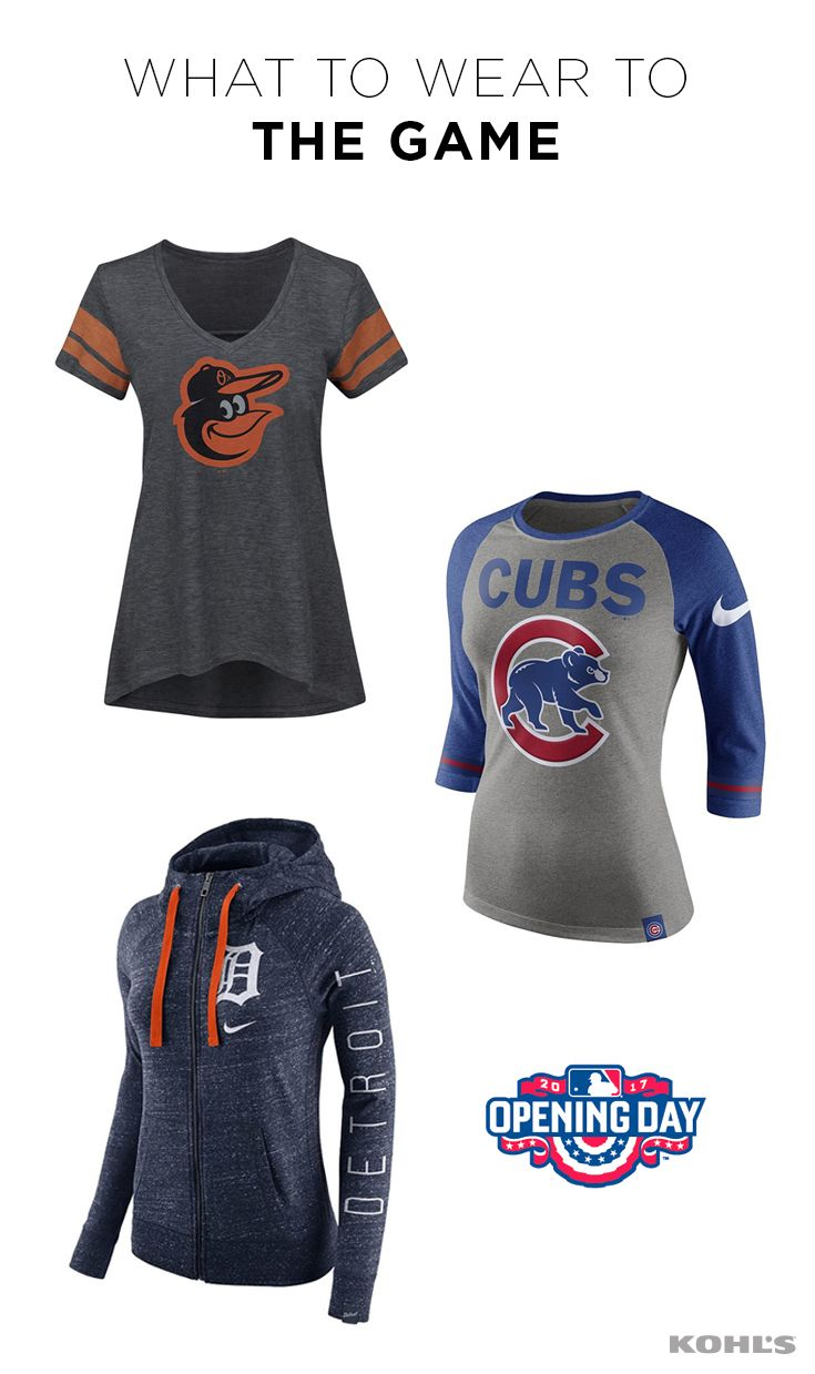 Your Team Needs You Gear Up For Opening Day And The Rest Of The Baseball Season In V Necks Raglan Tees And Women Outfits Shoes Retail Fashion Cool Outfits