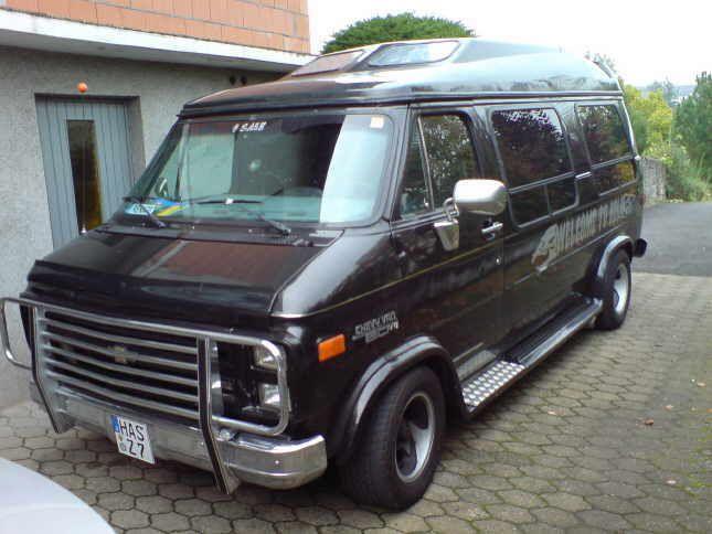 79 Dodge Trans Van   Karl-Heinz 91 Chevy Van G20