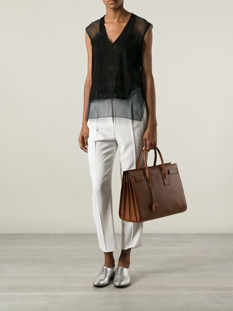 a9b06ec5f5c2 Saint Laurent Medium 'sac De Jour' Tote - Rio Store - Farfetch.com ...