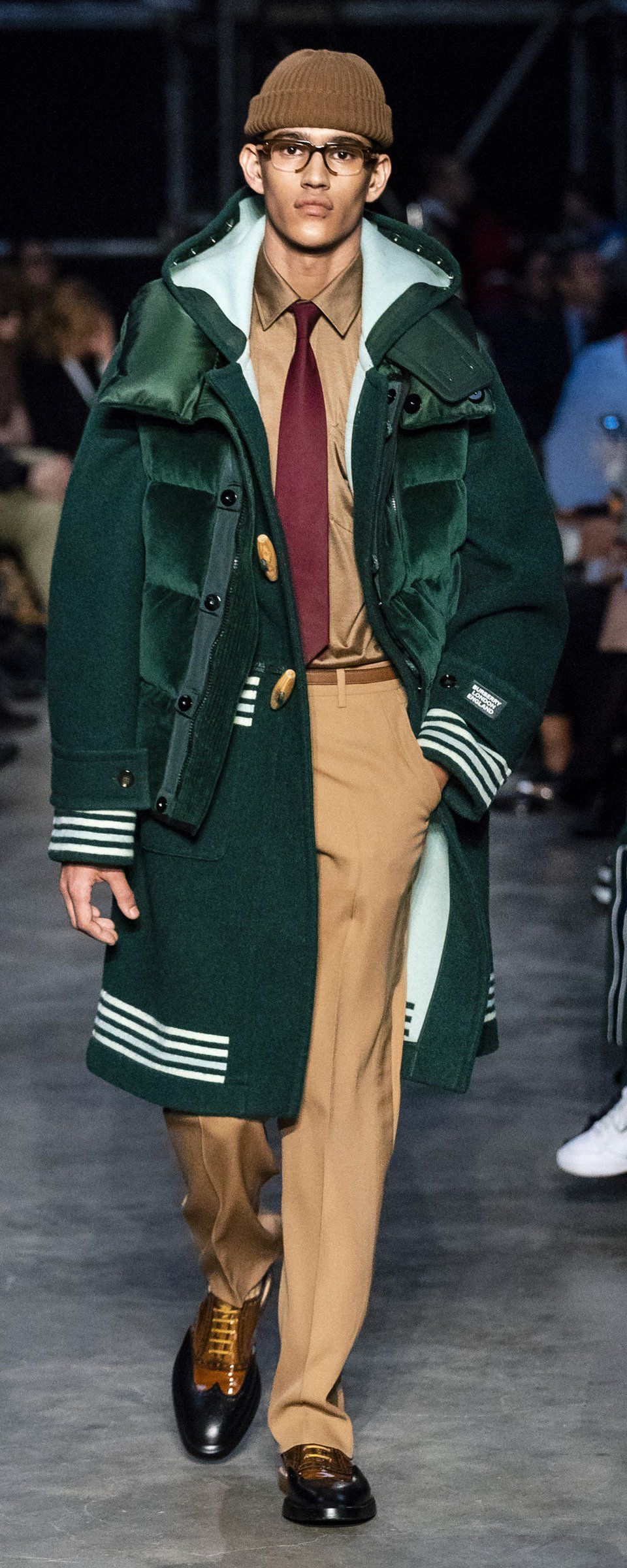 Mens Winter Fashion 2020.Burberry Fall Winter 2019 2020 Ready To Wear In 2019