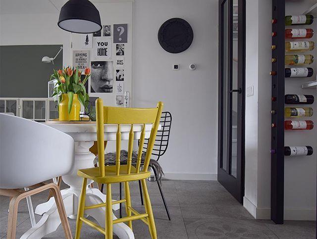Eetkamer houten tafel inclusief stoelen te koop dehands be
