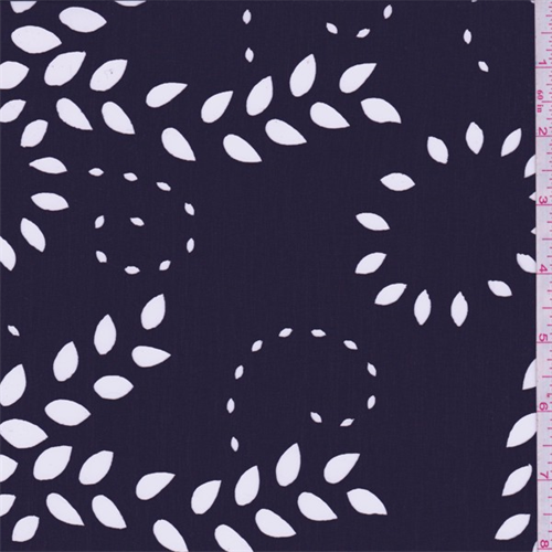 Very lightweight polyester fabric with a smooth and dry hand/feel. Laser cut, sheer floral design. Good drape-suitable for blouses, lined dresses and overlays. Machine washable.Compare to $10.00/yd