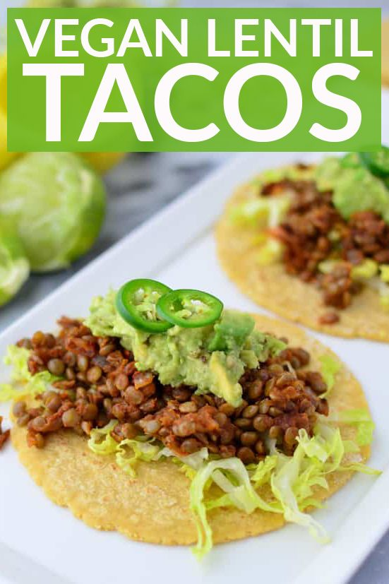 Photo of Vegan Lentil Tacos