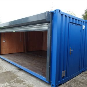 Delicieux 20ft Containers U0026 40ft Containers Make Great Storage U0026 Office Spaces. Easy  Access Doors U0026 Widows Are A Popular Choice In Our Workshop!