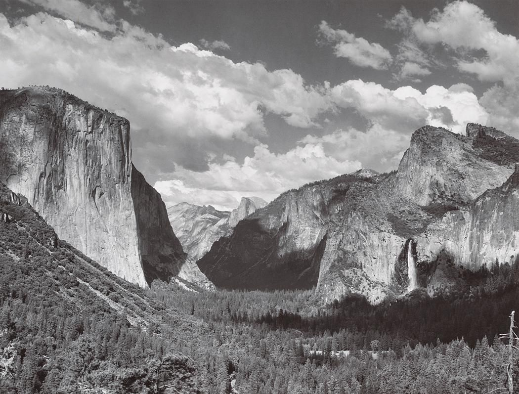Valley View Summer Yosemite National Park Ca 1935 Ansel Adams Yosemite Ansel Adams Photography