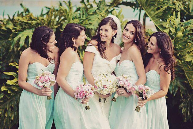 Brides Hawaii Real Wedding Photos A Vintage Inspired Destination In Maui