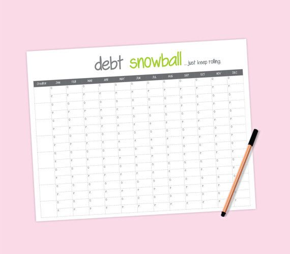 debt snowball worksheet debt payoff Pinterest Debt snowball - debt calculator spreadsheet
