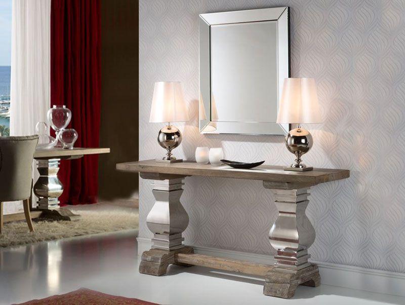 Pin de decoraci n gim nez en recibidor decoracion de - Muebles de recibidor modernos ...