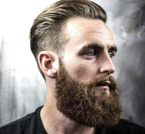 How To Trim and Shape Your Beard Fast and Easy Guide | Hairstyles for receding hairline, Mens ...