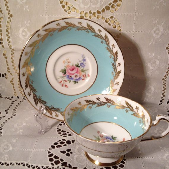 Vintage Paragon Bone China Tea Cup and Saucer by ViolasValuables