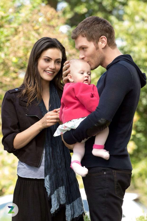 """Hayley, Hope and Klaus in The Originals - 2x09 """"Map of Moments"""" Stills"""