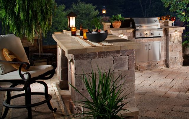 Outdoor grill designs outdoor kitchens and bbq islands for Outdoor kitchen bbq designs