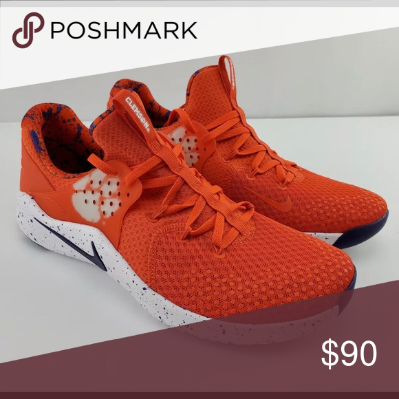 Nike Mens Clemson Tigers Free TR8