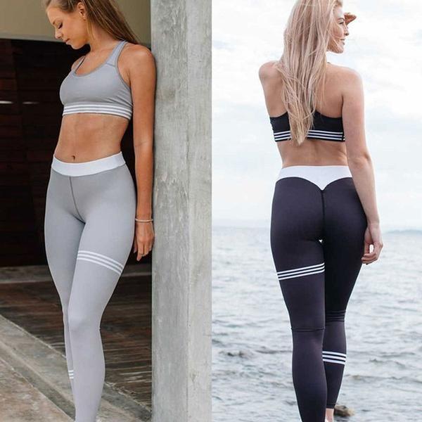 bcfec68ae38 Woman Sports Fitness Leggings Sportswear Women Gym Leggings Yoga Pants Sport  Running Workout Legency For Female Peach Hip Leggin