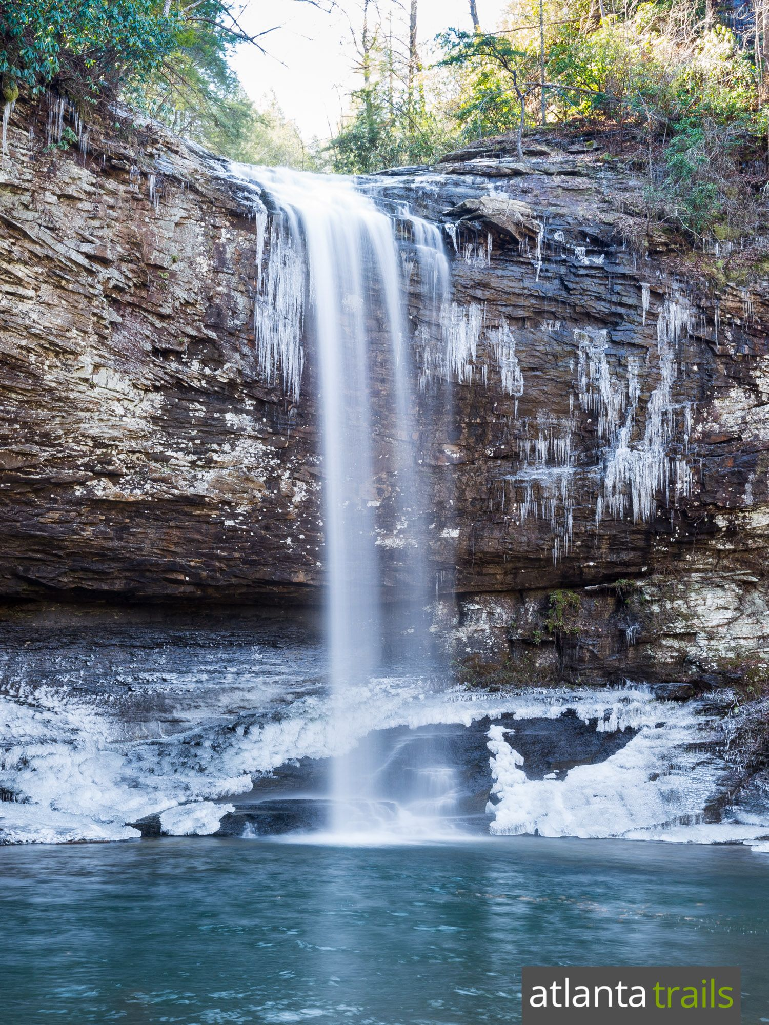 Hike Georgia S Cloudland Canyon State Park In Winter For