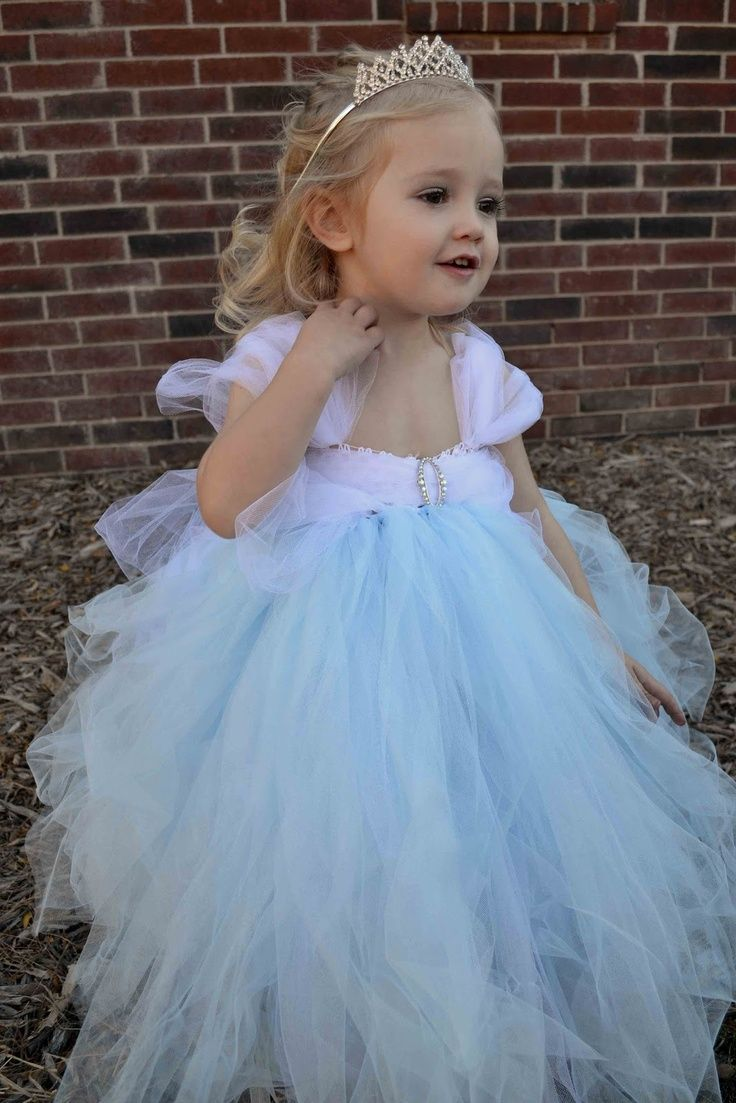 pintrest tulle dresses | No-Sew Tulle CINDERELLA Dress! | tulle ...