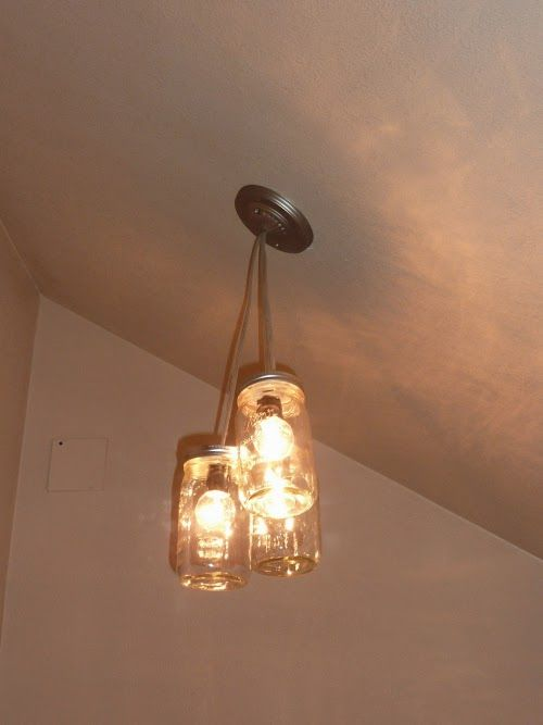 Making Light Fixtures Out Of Mason Jars Do It Yourself