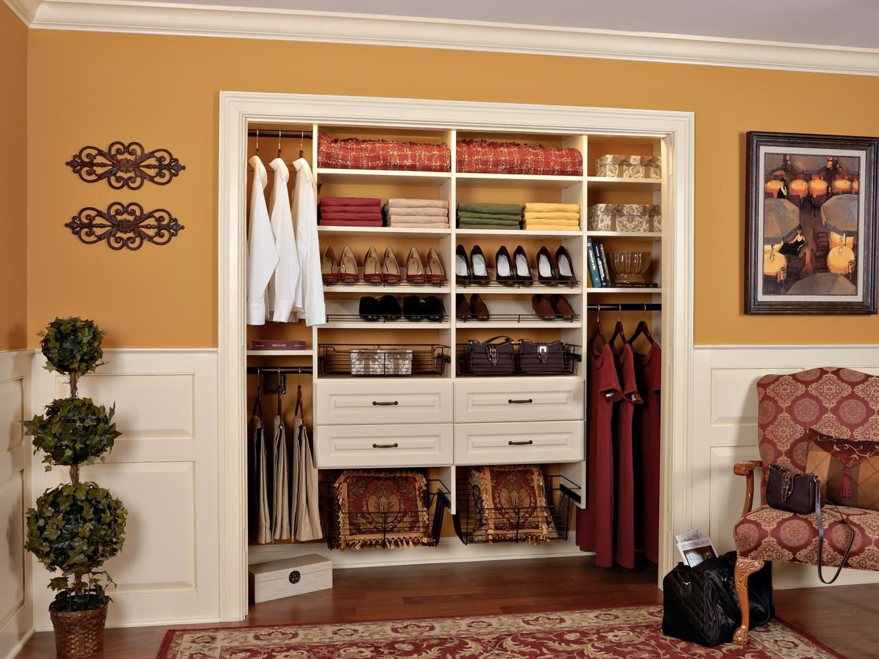 Learn More: Http://www.closetfactory.com/custom Closets