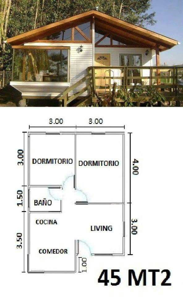 Casa de campo karen small house plans also best images in rh pinterest