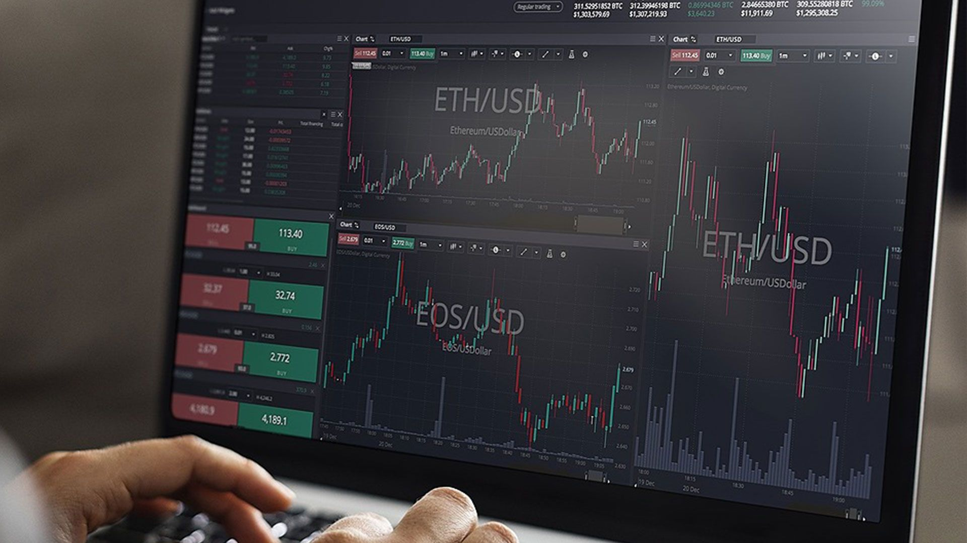 top cryptocurrency trading platforms)