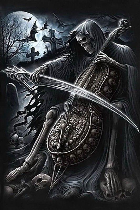 Reaper death pinterest faucheuse la faucheuse et la mort - Tatouage la faucheuse ...