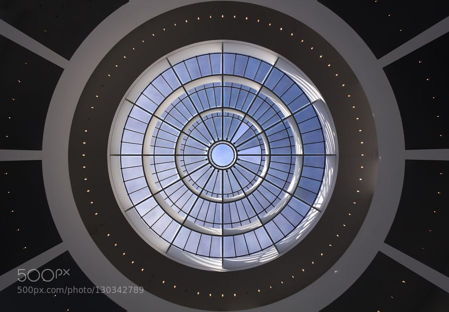 Rooflight dome Pinakothek der Moderne München  Stephan Braunfels Architekten München 2002