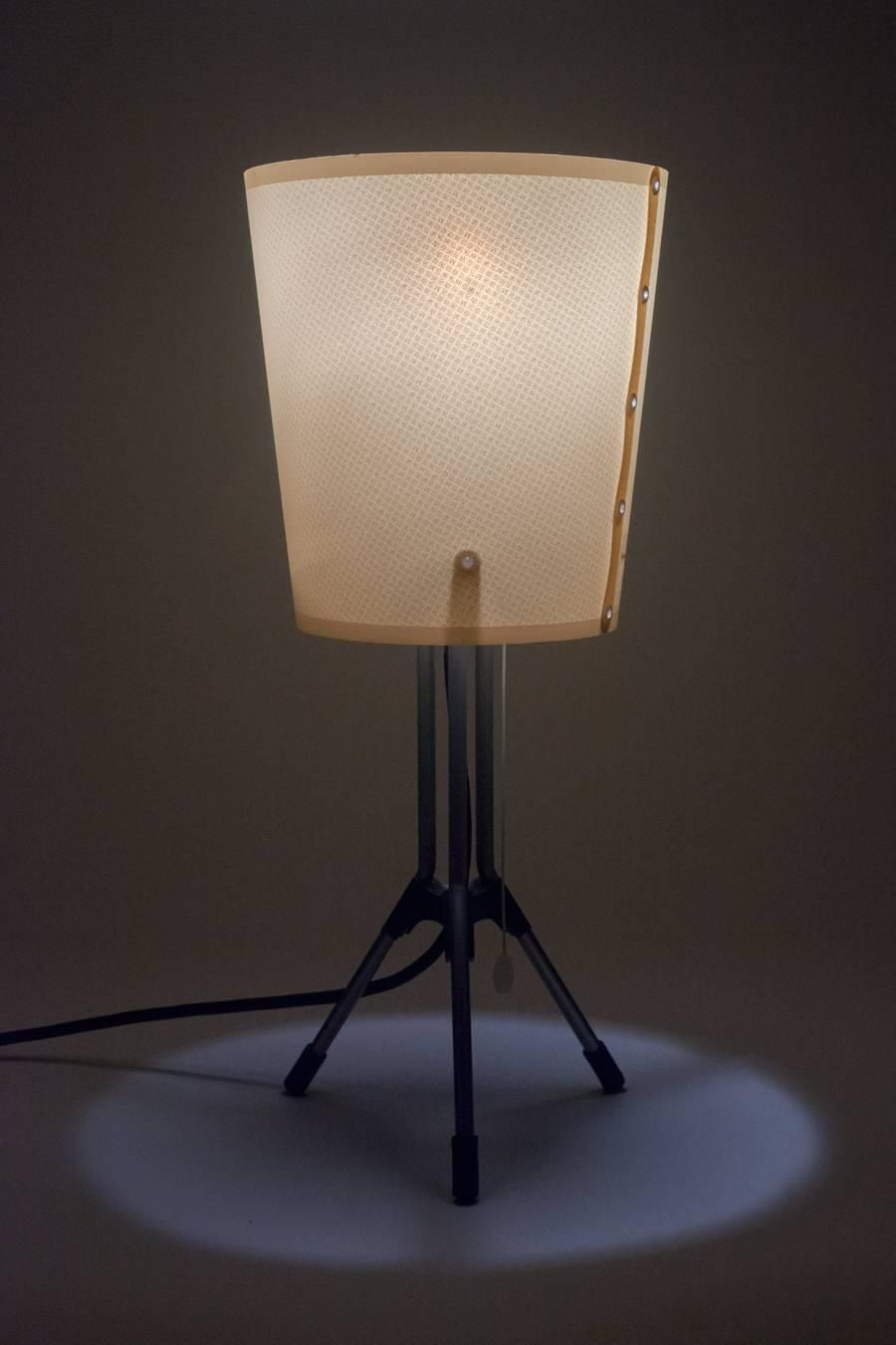 Genial Italian Table Lamp Milo By Rodolfo Dordoni For Artemide, Tripod Base, 1990s  | From