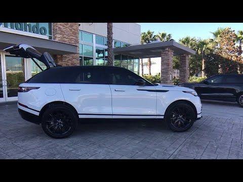 2018 Land Rover Range Rover Velar Winter Park Clermont Sanford Daytona Apopka Fl P1665 Range Rover White Range Rover Dream Cars