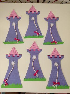 Zauberhaftes - Handgemachtes: Einladungen Rapunzel