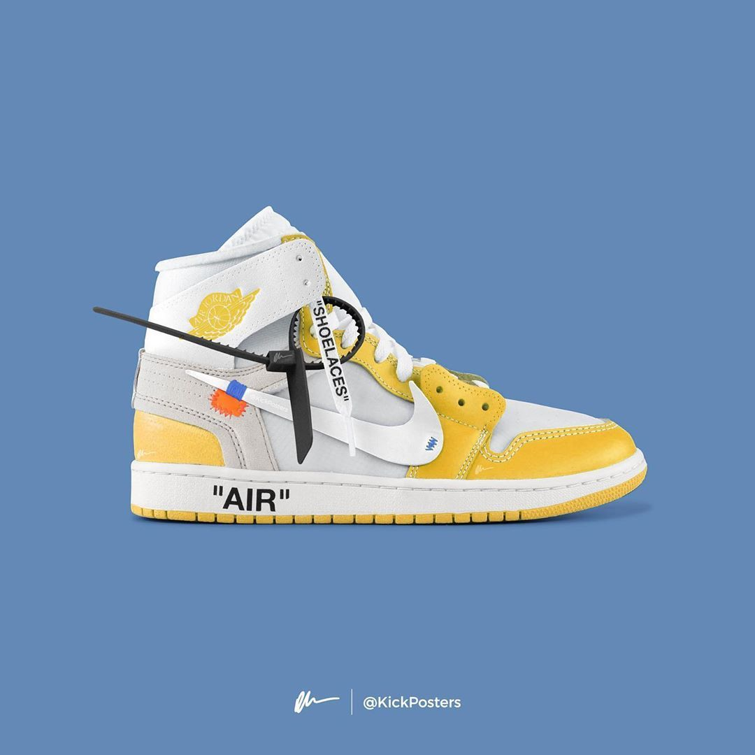 Ould You Cop The Yellow Off White Jordan 1s Comment