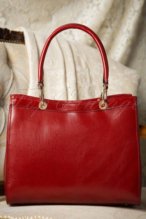 VaVa Vintage Red Handbag 212 20 16476 08052015 03W