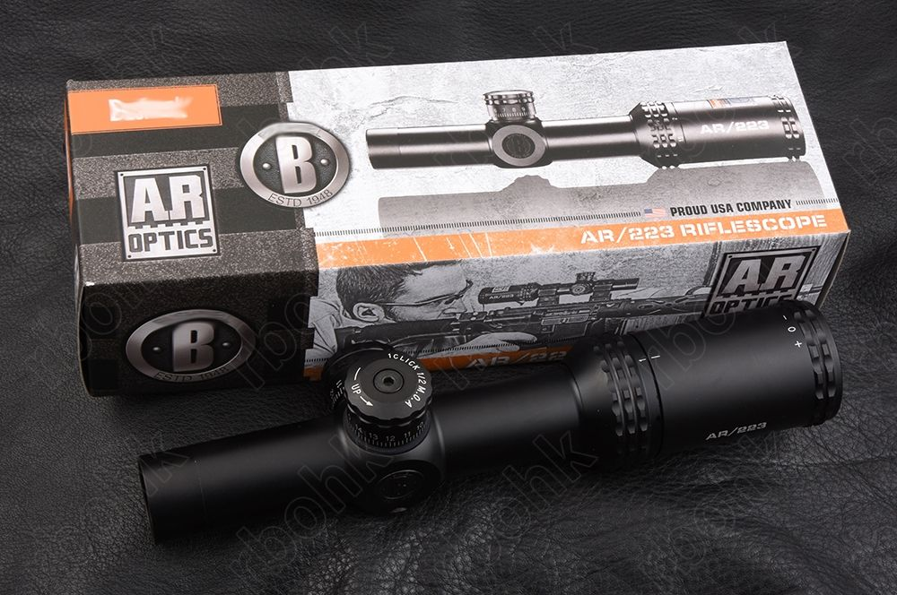 Ar Optics 1-4X24 Rifle scope Drop Zone BDC Reticle Matte BDC Hunting RBO M5849