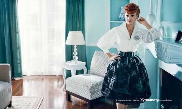 It only looks like the real thing - Lucille Ball