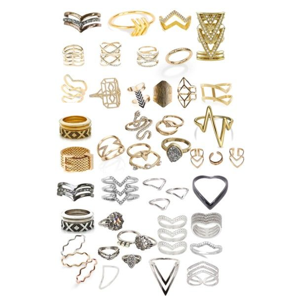 Chevron rings by okaybri on Polyvore featuring polyvore, fashion, style, Aurélie Bidermann, Zoë Chicco, Grace Lee Designs, Jennifer Zeuner, Yves Saint Laurent, House of Harlow 1960, Michelle Campbell Jewelry, VicenzaSilver, Lee Renee, Epiphany, Bling Jewelry, ABS by Allen Schwartz, Stella & Dot, Mudd, BP., Wet Seal, Boohoo and Charlotte Russe